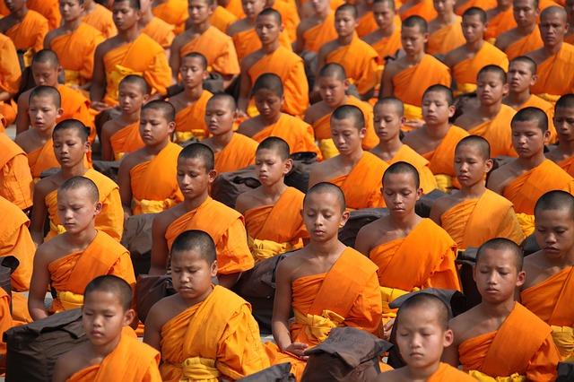 moines-thailande