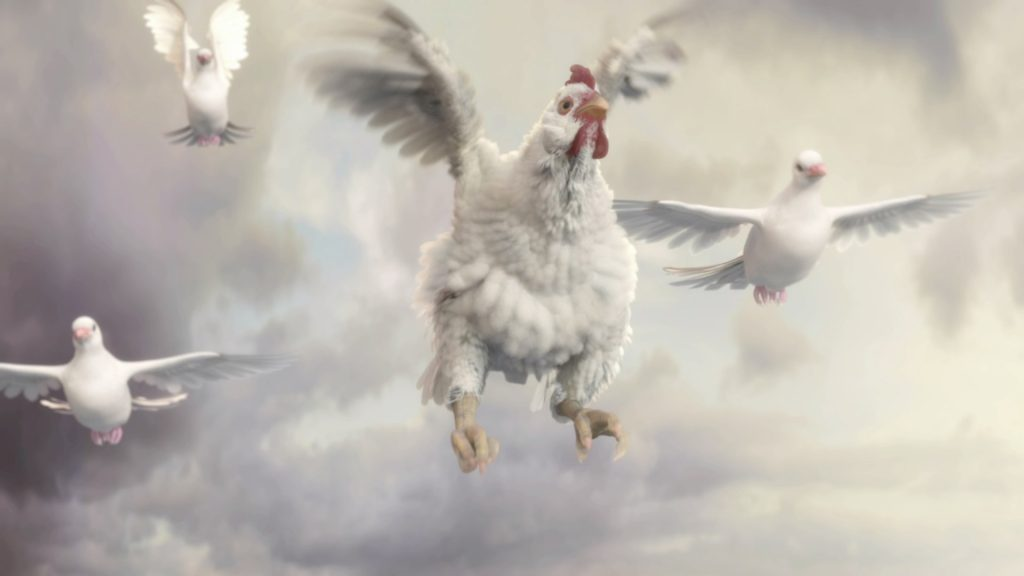 Fable 3 - Flying chicken