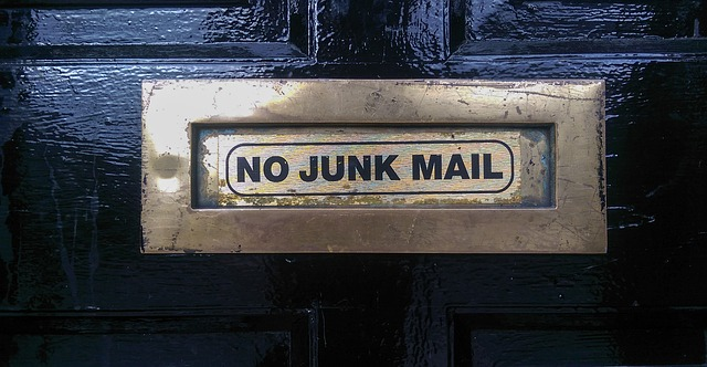No junk mail - Mailbox